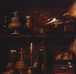 Still life in a Cupboard, 1538