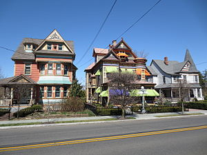 Stockton Street Historic District - Image: Stockton St Historic District Hightstown