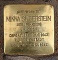 Stolperstein Bayerische Str 12 (Wilmd) Minna Silberstein.jpg