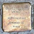 Stolperstein Bremen St Stephani - Rachel Abraham - 1941.jpg