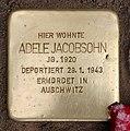 Stolperstein Frankfurter Tor 4 (Frhai) Adele Jacobsohn.jpg
