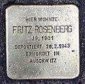 Stolperstein Grunewaldstr 12 (Schön) Fritz Rosenberg.jpg