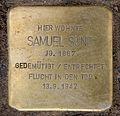 Stolperstein Hohenzollerndamm 35a (Wilmd) Samuel Sund.jpg