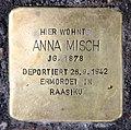 Stolperstein Kantstr 149 (Charl) Anna Misch.jpg