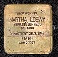 Stolperstein Motzstr 13 (Schön) Martha Loewy.jpg