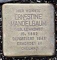 Stolperstein Remscheid Palmstraße 10 Ernestine Mandelbaum.jpg
