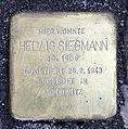 Stolperstein Sächsische Str 70 (Wilmd) Hedwig Siegmann.jpg