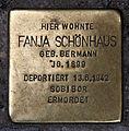 Stolperstein Sophienstr 32 (Mitte) Fanja Schönhaus.jpg