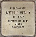 Stolperstein für Arthur Bondy (Salzburg).jpg