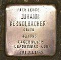 Stolperstein für Johann Kerndlbacher.JPG
