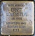 Stolpersteine Höxter, Ernst Löwenstein (Westerbachstraße 5).jpg