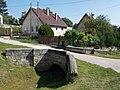 Stone bridge, Rácváros and Jóvilág streets corner, 2018 Zsámbék.jpg