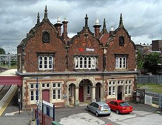 Stone railway station Railway station in Staffordshire, England
