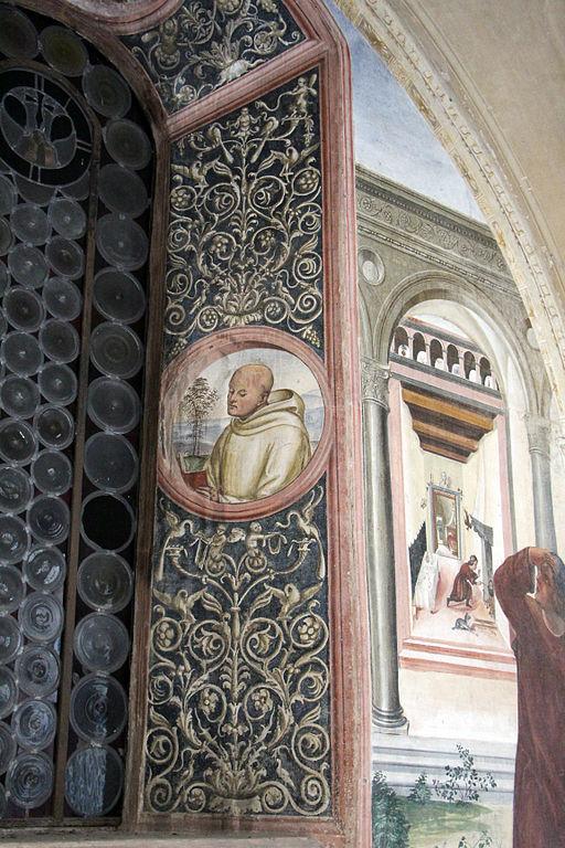 Storie di s. benedetto, 06 sodoma - Come uno prete ispirato da dio porta da mangiare a Benedetto nel giorno di pasqua 05