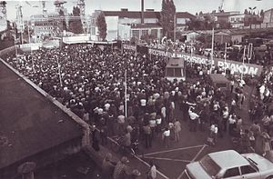 Szczecin Agreement - Strike at Szczecin Shipyard, August 1980
