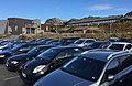 Stranda skule, primary school in the Municipality of Sund, Sotra, Hordaland, Norway - car park - 2017-10-23 b.jpg