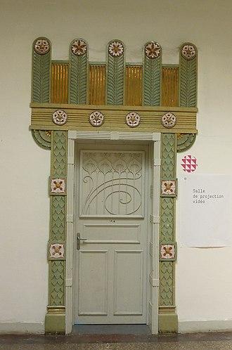 Haute école des arts du Rhin - Image: Strasbourg HEAR détail (12)
