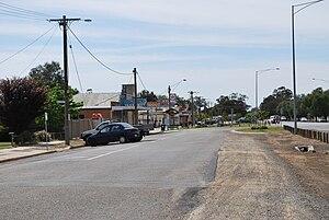 Strathmerton - Main street, Strathmerton