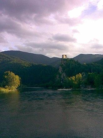 Upper Váh region -  Strečno castle
