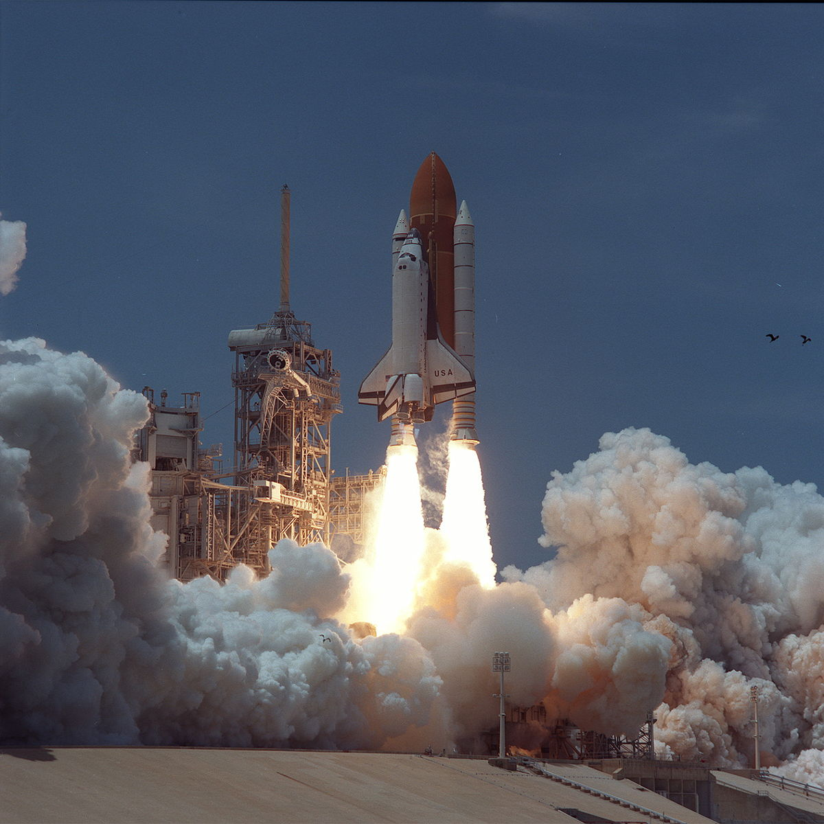 space shuttle columbia take off - photo #19