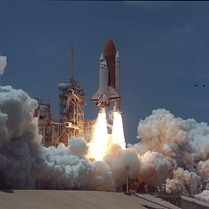 STS-94 - Launch of Space Shuttle Columbia on STS-94