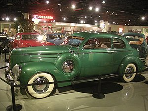Studebaker President - 1940 Studebaker President Club Sedan