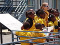 Students and Teachers outside National Civil Rights Museum - Downtown Memphis - Tennessee - USA - 02.jpg