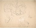 Studies of a Seated Bearded Man MET DP803689.jpg