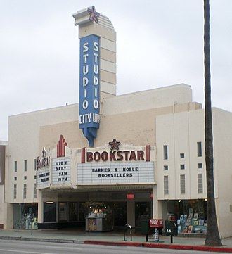 Studio City, Los Angeles - Studio City Theater, now a Barnes & Noble branch