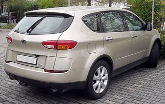 Subaru Tribeca - Pre-facelift Subaru B9 Tribeca (Germany)