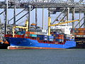 Suderoog loading and unloading in the Amazone harbour Port of Rotterdam 08-Apr-2007.jpg