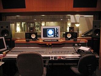 SugarHill Recording Studios - Studio A - SugarHill Recording Studios