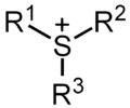Sulfonium ion general structure.png