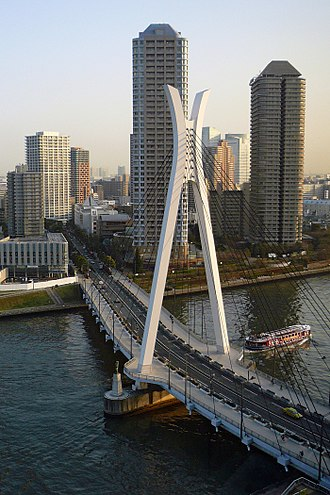 Sumida River - Chuo Bridge