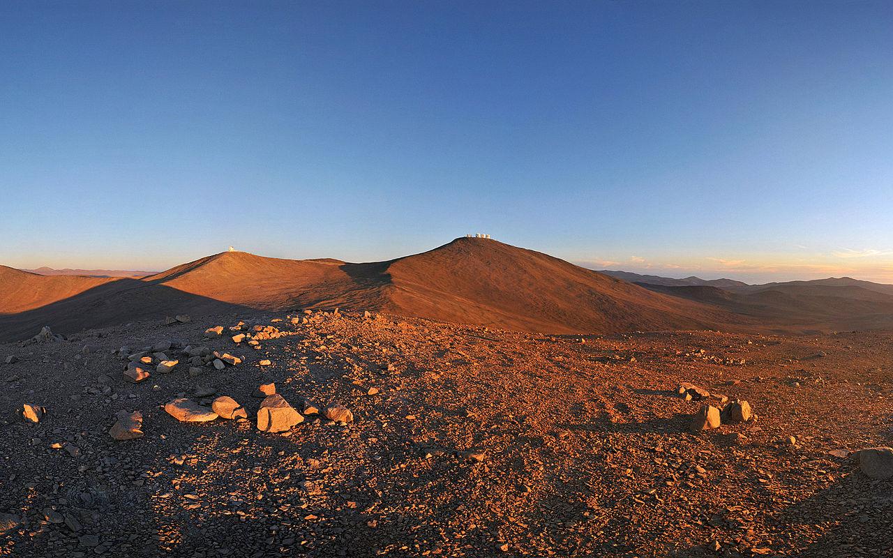File Sun Moon And Telescopes Above The Desert Wallpaper