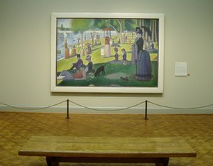 A Sunday Afternoon on the Island of La Grande Jatte - On display at the Art Institute of Chicago