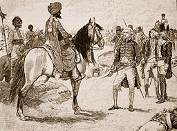Surrender of Baillie to Hyder Ali