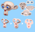 Suzanne Monkey UV Mapping.png