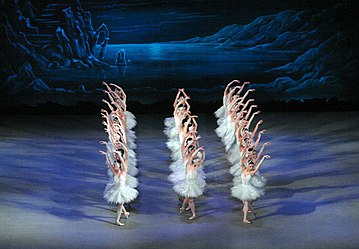 The Valse des cygnes from Act II of the Ivanov/Petipa edition of Swan Lake. Courtesy of Wikipedia Commons