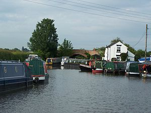 Derby Canal - Swarkstone Junction and Toll House in 2007