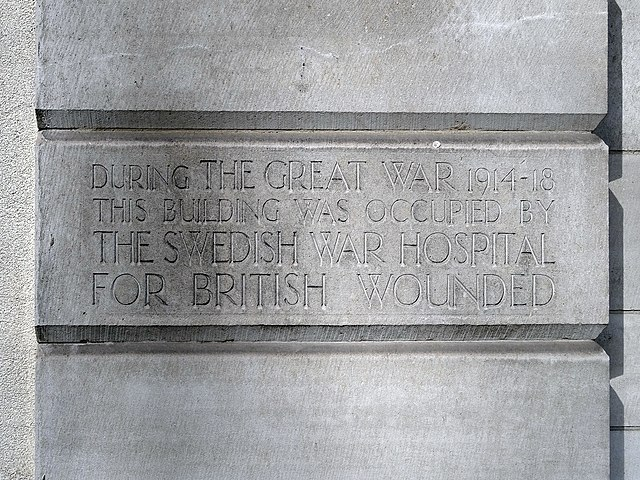 Photo of Stone plaque number 42501