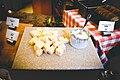 Swiss cheese and garlic cheese.jpg