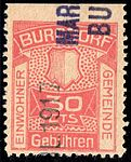 Switzerland Burgdorf 1917 revenue 30c - 4B.jpg