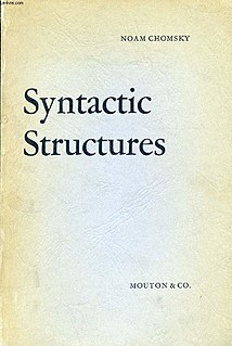 <i>Syntactic Structures</i> Book by Noam Chomsky