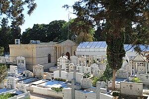 Turkish Assyrians - Image: Syriac Orthodox church and cemetery in Zeytinburnu