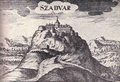 Szadvar fort in Hungary about 1680.png