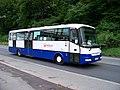 Třinec, Těšínská, autobus u nádraží (04).jpg