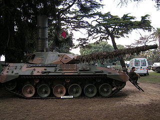 Tanque Argentino Mediano main battle tank