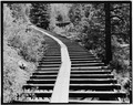 TOP VIEW OF TYPICAL SECTION OF FLUME-1980 - Power Flume No. 1, Tacoma, La Plata County, CO HAER COLO,33-TAC.V,3-13.tif