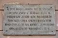 Tablica TUR Aleje Jerozolimskie 30 w Warszawie.jpg